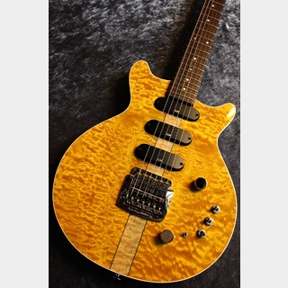 Kz Guitar Works Kz One Semi-Hollow 3S23 Kahler Lemon Yellow #20180049【極杢個体】【極音個体】【担当イチオシ個体】