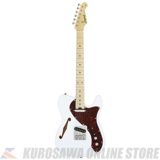 LEGEND LTE-69TL -White, Tortoise Pickguard-【Nine Musicアクセサリーパックプレゼント!】