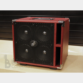 "Phil Jones Bass Compact 4 ""Red"" (400W / 8Ω) [Compact Speaker Cabinet]"