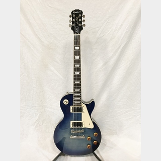 Epiphone Les Paul Standard Plus Trans Blue 【中古美品】