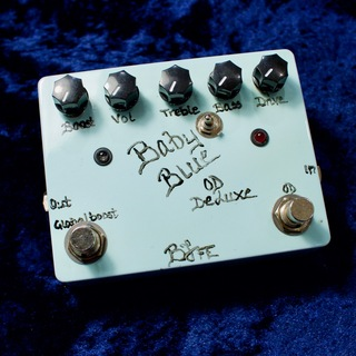 BJF Electronics Baby Blue Overdrive Deluxe with Toggle Switch