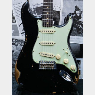 Fender Custom Shop Guitar Planet Exclusive 1959 Stratocaster Heavy Relic -Black-