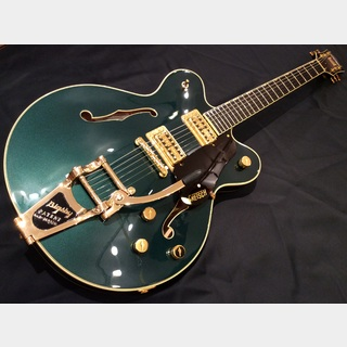 Gretsch G6609TG Players Edition Broadkaster® Center Block Double-Cut Cadillac Green Metallic