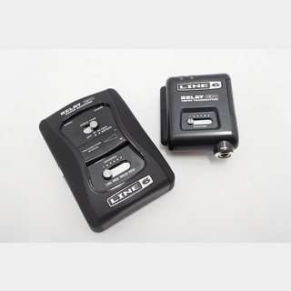 LINE 6 RELAY G30  RXS06 RECEIVER & TBP06 TRANSMITTER