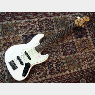 Fender Made In Japan Hybrid Jazz Bass V Arctic White