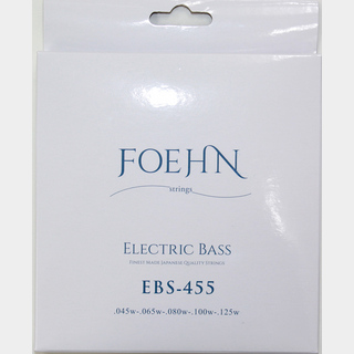 FOEHN EBS-455×2セット Electric Bass Strings Regular Light 5strings 5弦エレキベース弦 45-125