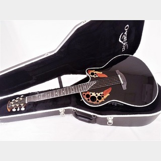 Ovation American LX Custom Elite Deep Contour C2078 LX 5 BLACK