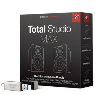 IK Multimedia Total Studio MAX ボックス版 【渋谷店】