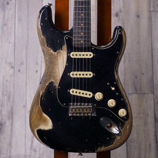 Fender Custom Shop Master Built 1960 Stratocaster Heavy Relic by Kyle McMillin -Black- 【Spec Piece】
