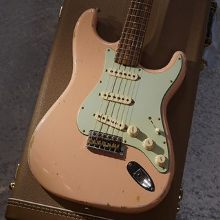 Fender Custom Shop 【USED】1960 Stratocaster Relic Aged Shell Pink [2017年製][3.39kg][送料無料]【セール対象品】