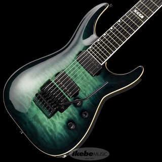 E-II HORIZON FR-7 QM (Black Turquoise Burst) [2018 MODEL] 【傷有り特価】