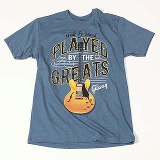 Gibson Played By The Greats Tee (Indigo) Large GA-PBIMLG