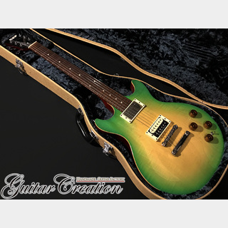 ESP助六 IGUANA 2008年製【Green Sunburst】~Ken Yokoyama Signature Model~ w/Original Hard Case 3.52kg