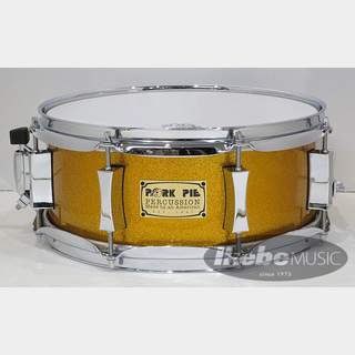 "PORK PIE""USA Custom"" Maple 8Ply 12""×5"" [Gold Sparkle Hi-Gloss Lacquer] 【展示入替特価品】"