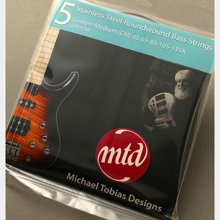 MTD 5-String Custom Medium -Stainless Steel- 【NEW】