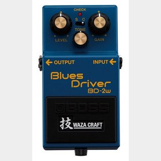 BOSS BD-2W Blues Driver 「技 WAZA CRAFT」シリーズ