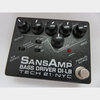 Tech 21 SANSAMP BASS DRIVER DI-LB