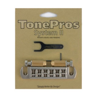 TONE PROS AVT2G-N Wraparound Bridge ニッケル ギター用ブリッジ