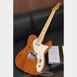 "Fender Custom Shop 2020 Vintage Custom Series ""1968 Telecaster Thinline"", Aged Natural S/N R97582"