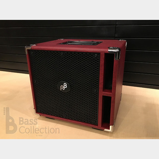 "Phil Jones Bass C4L ""Compact 4 Lite"" - Red (400W / 8Ω)"