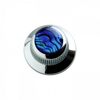 Q-PartsUFO KNOB TYPE [KCU-0701/Blue Abalone Shell in Chrome] 【展示品処分特価】