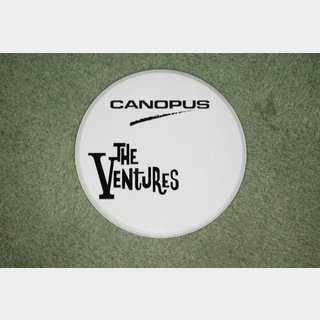 canopus CANOPUS The Ventures黒ロゴ入り 白ヘッド 20""