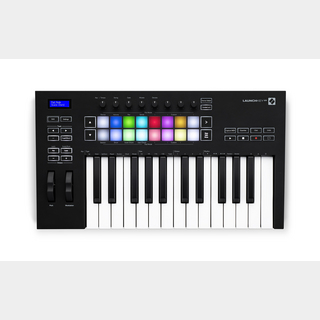 Novation Launchkey25 MK3 MIDIキーボードコントローラー【WEBSHOP】