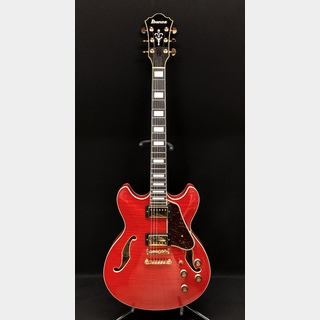 Ibanez AS93FM Tranparent Cherry Red