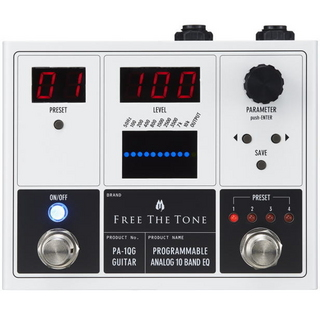 Free The TonePA-1QG PROGRAMMABLE ANALOG 10 BAND EQ