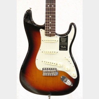 Fender American Original 60s Stratocaster Rosewood / 3-Color Sunburst ★週替わりセール!10日まで★