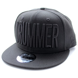 DRUMMERS TOP TEAM DTT CAP04 NEW ERA X DTT 9FIFTY BLACK X BLACK ドラマーズトップチームキャップ 黒×黒