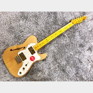 Squier by Fender Classic Vibe '70s Telecaster Thinline Natural 【展示入替特価】【2020年製】