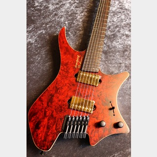 strandberg Boden J6 Hand Selected Wood J-Custom Red Tiger Semi Gloss #D1911003【現地選定材使用】【良音個体】