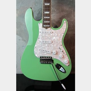 HAMILTONE Set Neck Stratocaster Model Surf Green