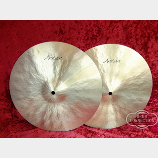 "SABIAN 【プレイヤーズ・ハンドピック】Artisan Light Hi-Hats 14""  Top:760g/Bottom:1,020g"