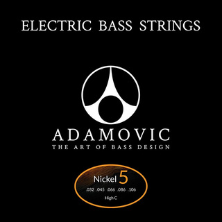 AdamovicAdamovic Bass string set 5st-Hi C [Nickel]