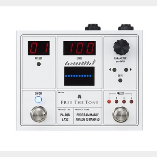 Free The TonePA-1QB ベース用 PROGRAMMABLEANALOG 10 BAND EQ【渋谷店】