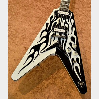 DEAN Michael Schenker Custom Flame Graphic
