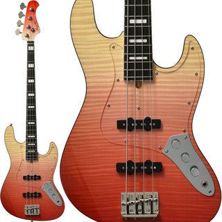 Bacchus Craft Series WL4-FM CUSTOM III (RED-GRD) 【特価】