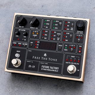Free The Tone FUTURE FACTORY FF-1Y  RF PHASE MODULATION DELAY