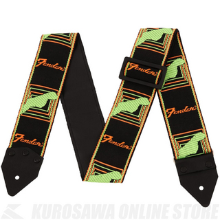 Fender Limited Edition Vintage Modified Monogram Strap BK/OR/GR《ハマ・オカモト監修》[数量限定]