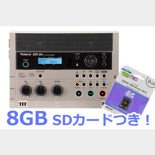 Roland CD-2u 【8GB SDカードセット!】【WEBSHOP】