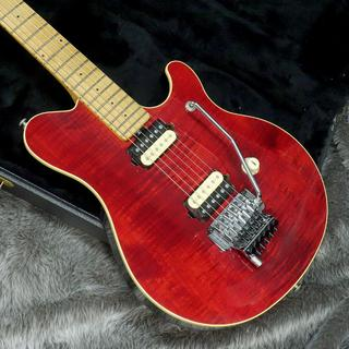 MUSIC MAN EVH Signature Trans Red【1991年製】