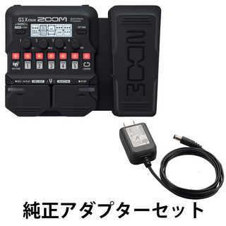 ZOOM G1X FOUR Guitar Multi-Effects Processor 純正アダプター AD-16 セット