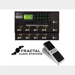 FRACTAL AUDIO SYSTEMS AX8+EV-1 set【フロアタイプのオールインワンユニット】即納OK【24回金利0%】TRSケーブルプレゼント!