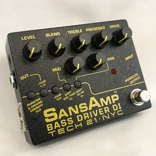 Tech 21SANSAMP BASS DRIVER DI V2