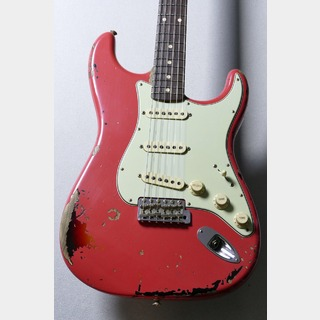 Fender Custom Shop Michael Landau 1963 Stratocaster -Fiesta Red over 3 Tone Sunburst- [3.48kg]