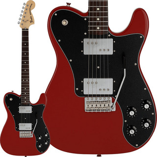 Fender Made in Japan Limited 70s Telecaster Deluxe with Tremolo (Dakota Red/Rosewood)