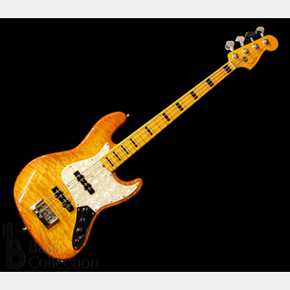 Fender Custom Shop Custom Classic Quilt Top Jazz Bass (Honey Burst) '13 【USED】
