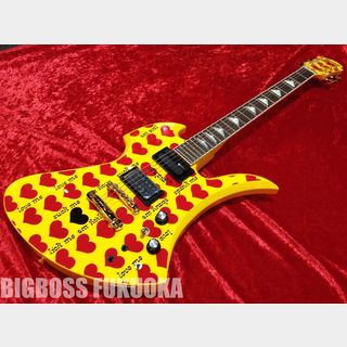 Burny hide MODEL MG-165S 【Yellow Heart】